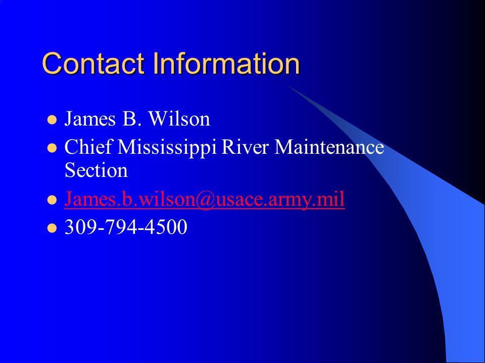 Contact Information James B.