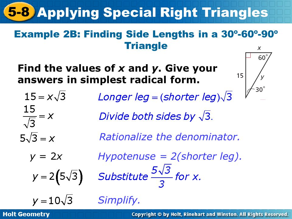Geometry Special Right Triangles Worksheet Answers Deployday – Special Right Triangles Worksheet 30-60-90 Answers