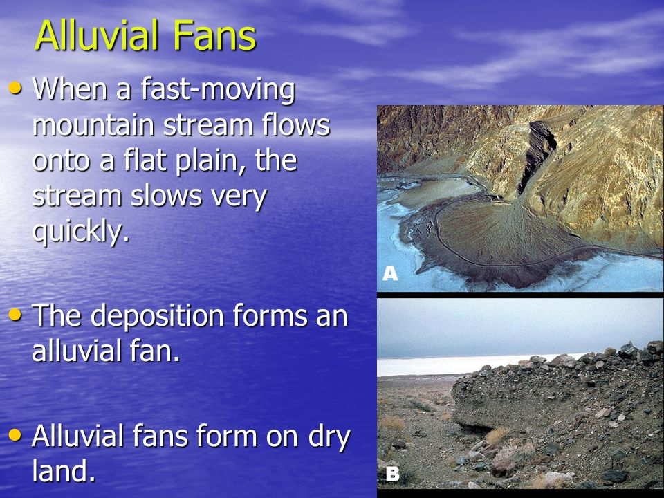 Stream and River Deposits - ppt download