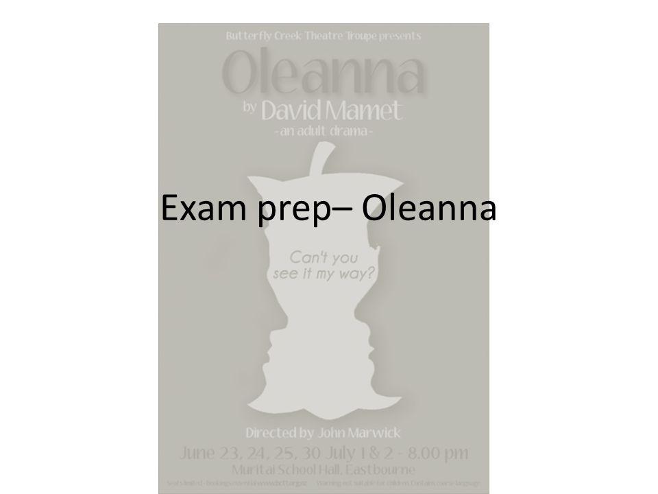 oleanna essay titles