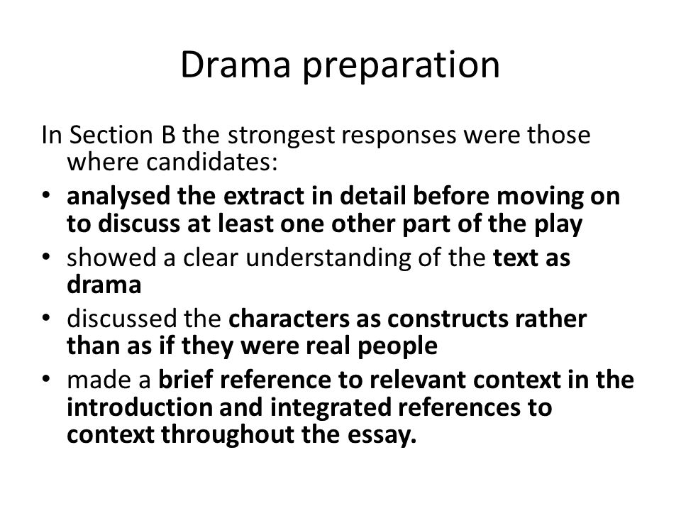 summary strong response essay