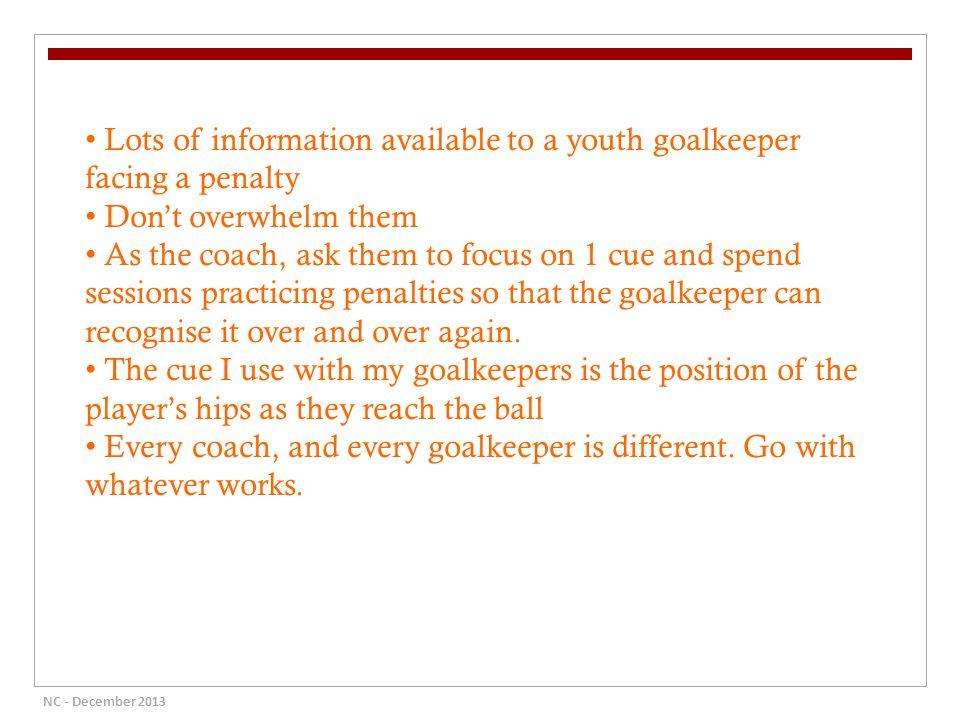 "Presentation ""The Modern Goalkeeper By Neil Cooper CAPA Trainer ..."
