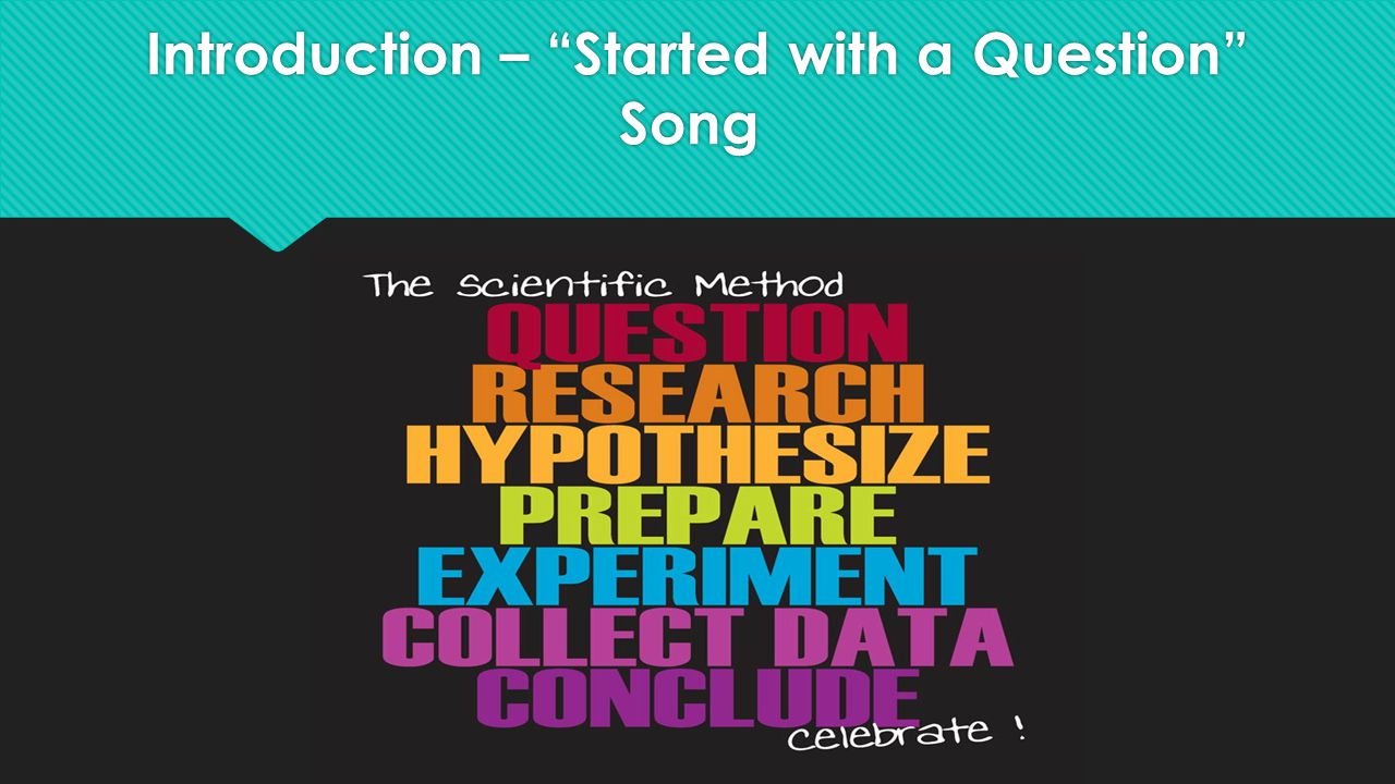 Introduction – Started with a Question Song