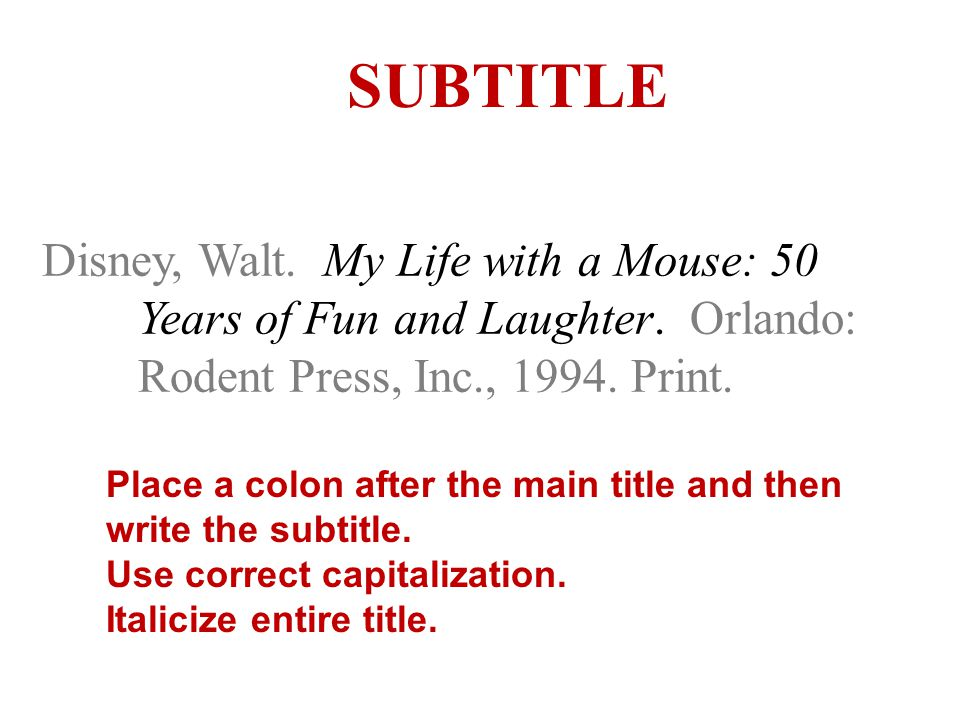 Disney, Walt. My Life with a Mouse: 50 Years of Fun and Laughter.