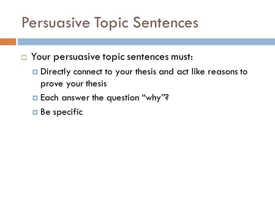 essay thesis statement represents