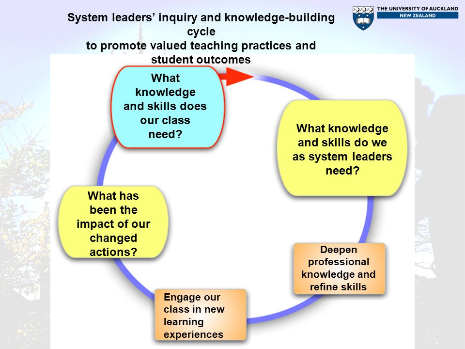 What knowledge and skills does our class need.