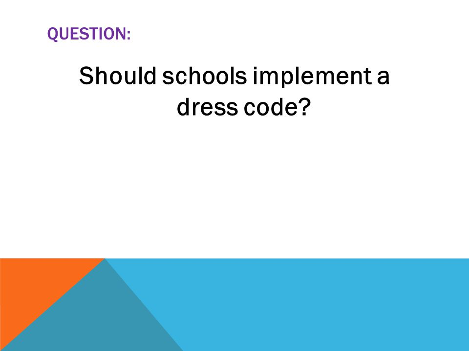 school uniform should or should not be banned Think school uniforms are a great idea think again sucka here are the top 10 reasons school uniforms should be banned.