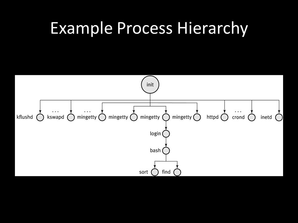 Example Process Hierarchy