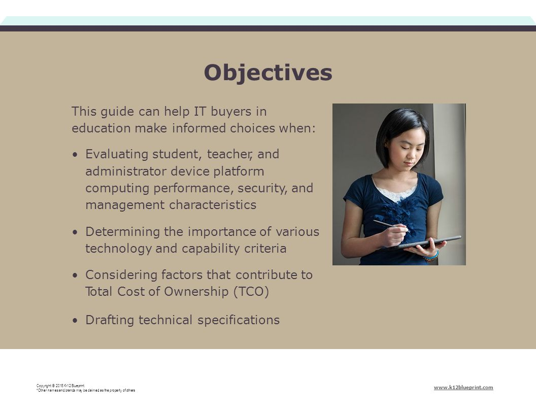 This resource sponsored by intel education copyright 2015 k 12 2 objectives this guide can help it buyers in education make informed choices when evaluating student teacher and administrator device platform computing malvernweather Image collections