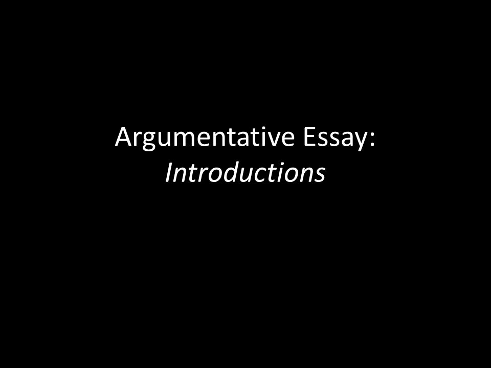 argumentative essay introductions introductory paragraph do not  1 argumentative essay introductions