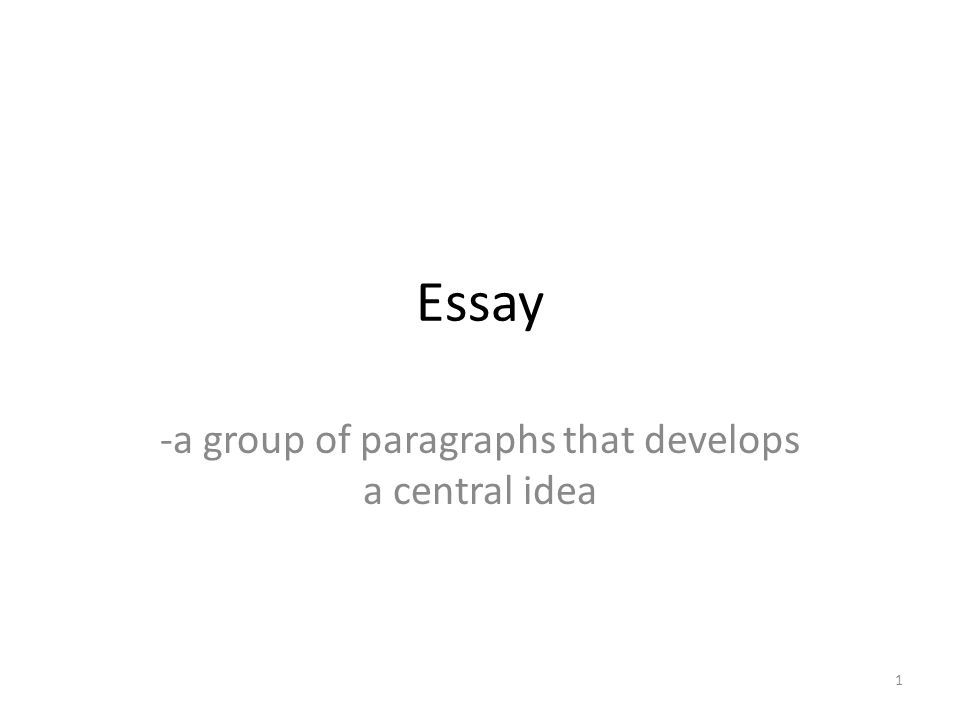 paragraph development structure of an essay Because there are four paragraph types — narrative, descriptive, expository, and persuasive—the paragraph can be used to describe.