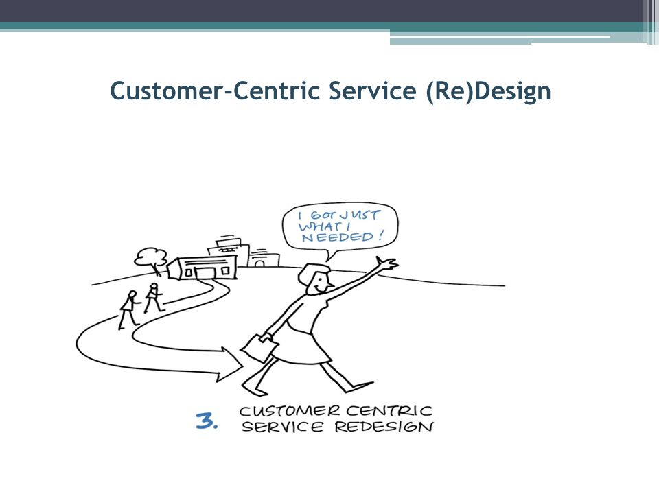 Customer-Centric Service (Re)Design