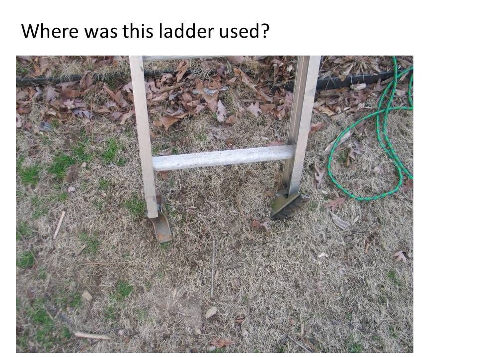 Where was this ladder used