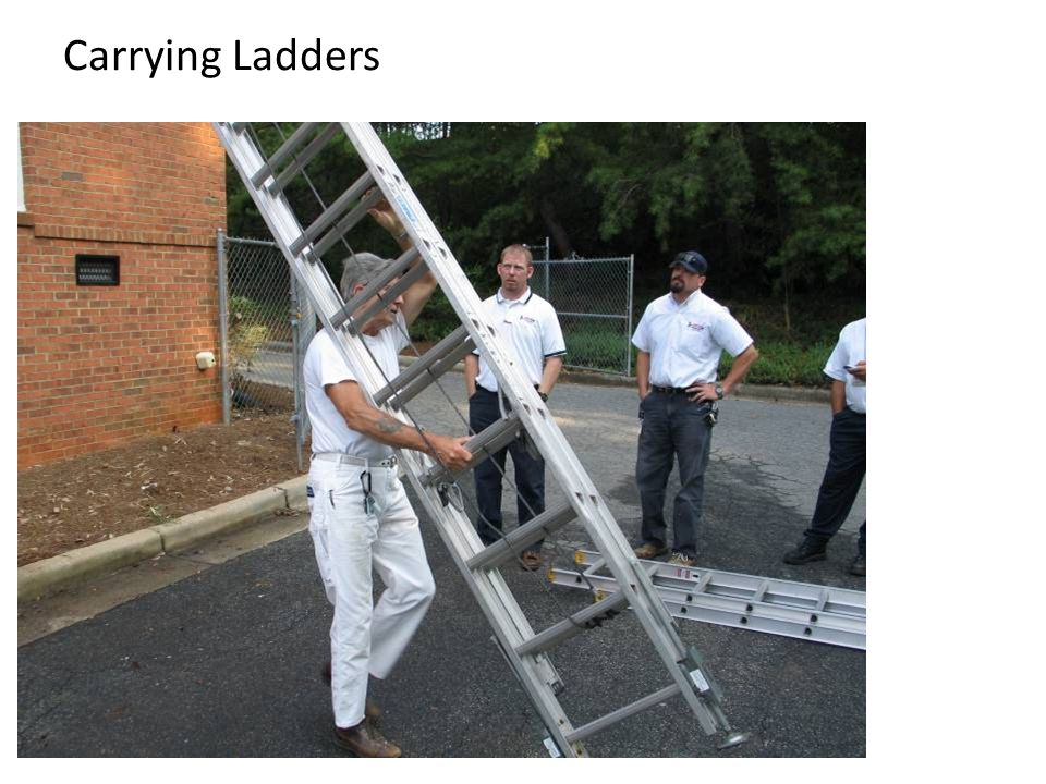 Carrying Ladders