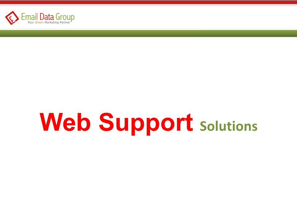 Web Support Solutions