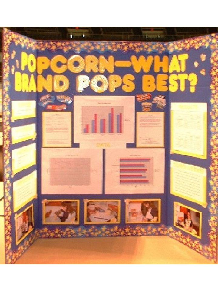 Science poster board rubric