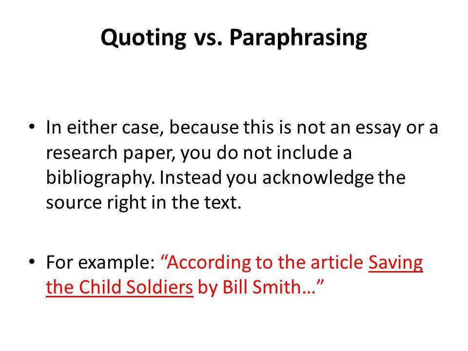 occupation essay