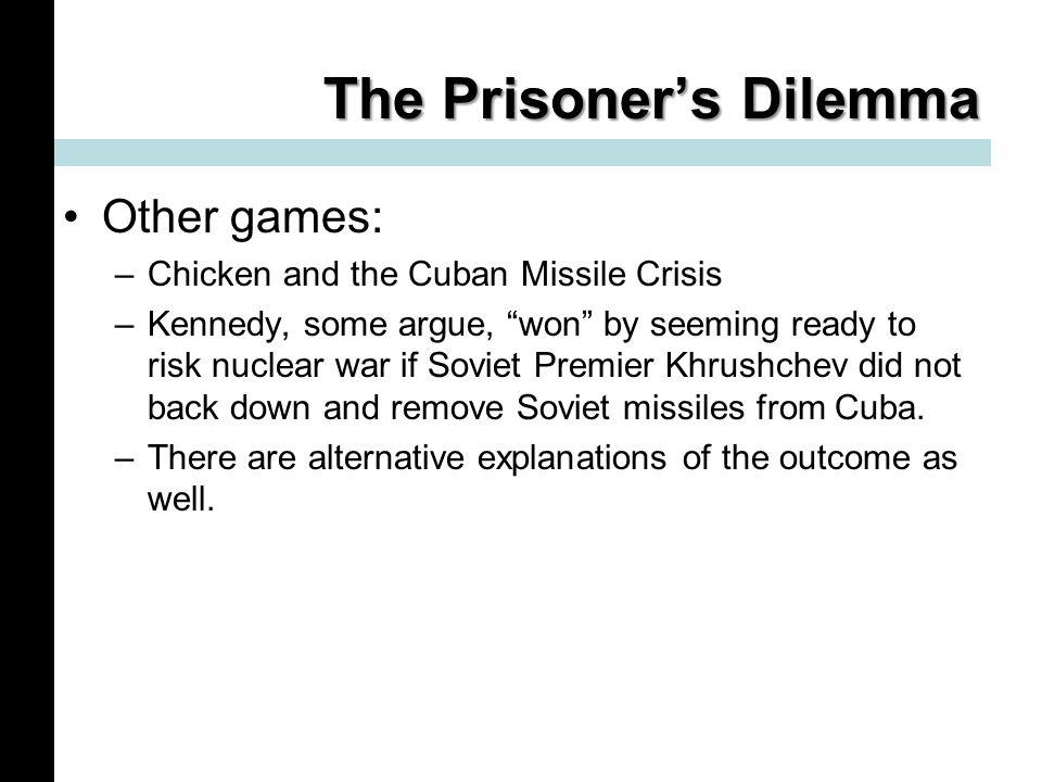 security dilemma cuban missile crisis