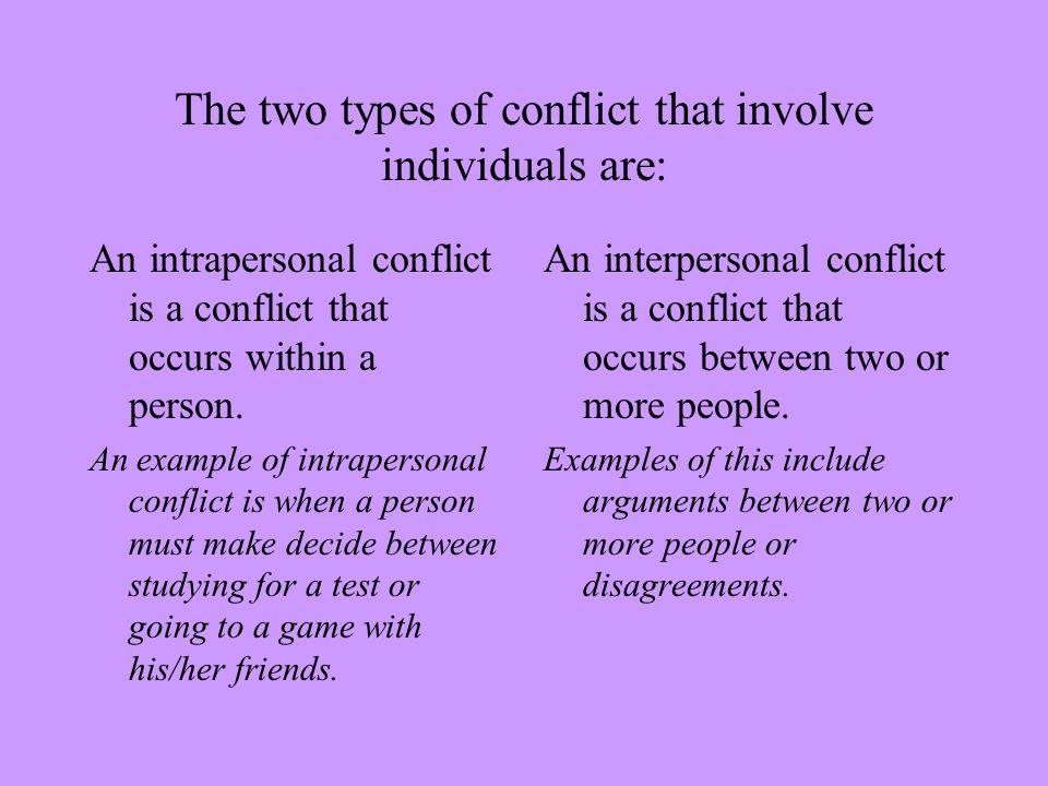 conflict essay example