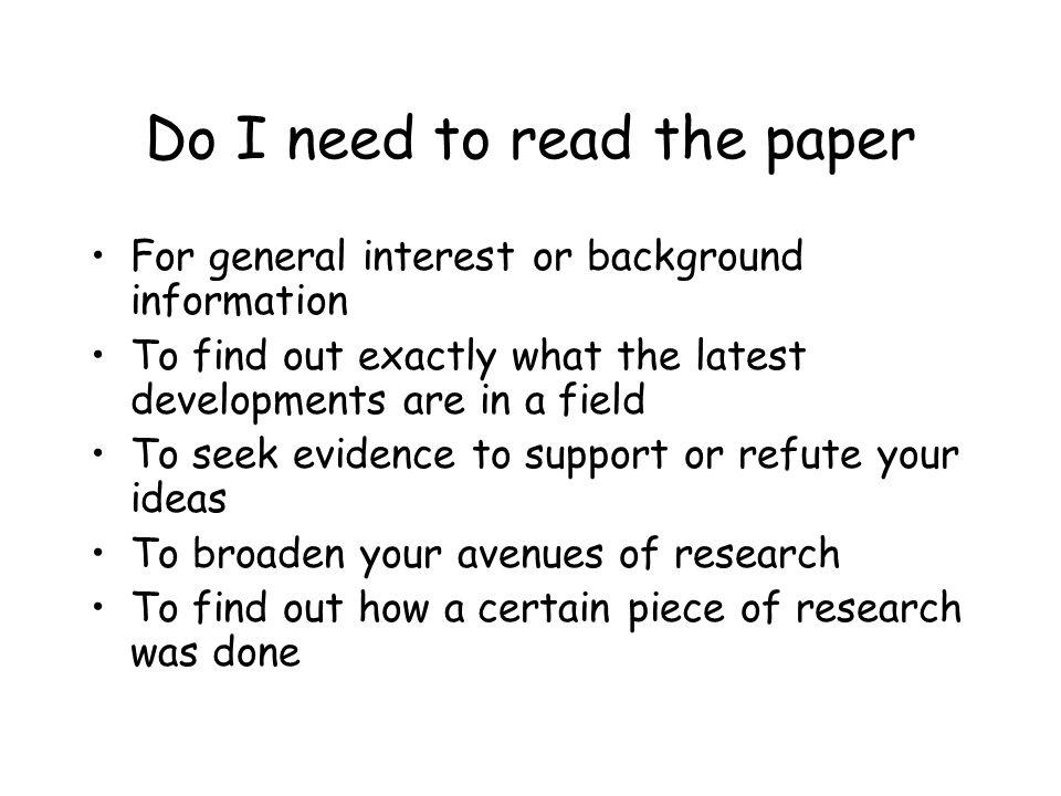 Find scientific papers