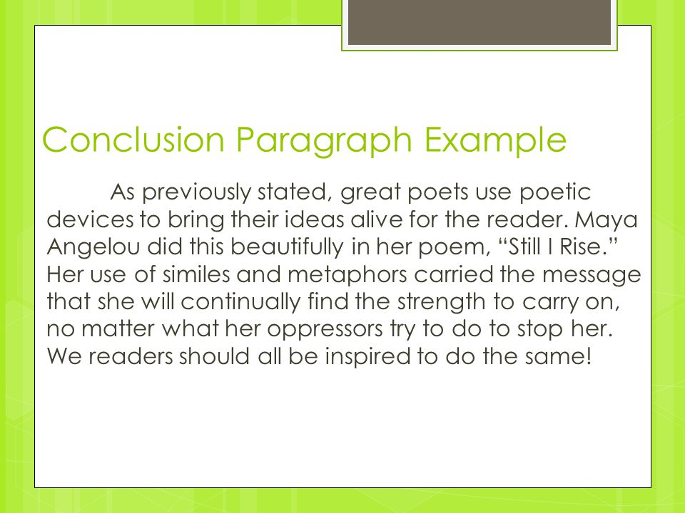 Poetic Analysis 3: Turning your P.E.E paragraphs into a complete ...