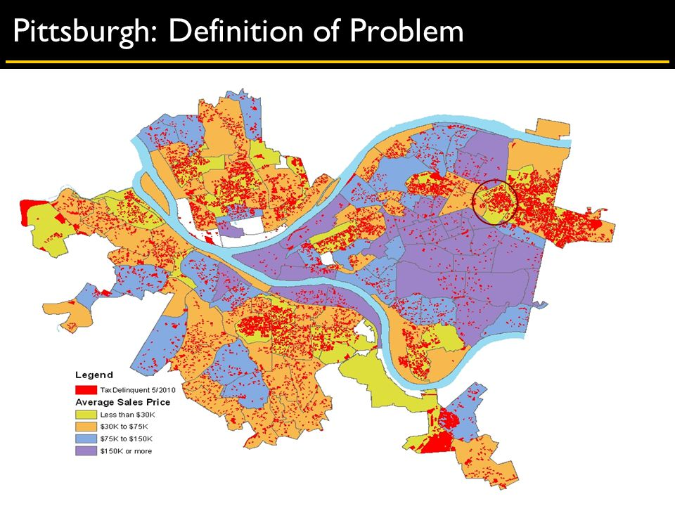 Pittsburgh: Definition of Problem