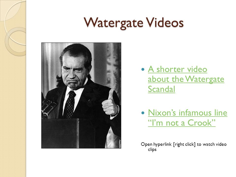the details of the political scandal watergate affair that plagued president richard m nixon