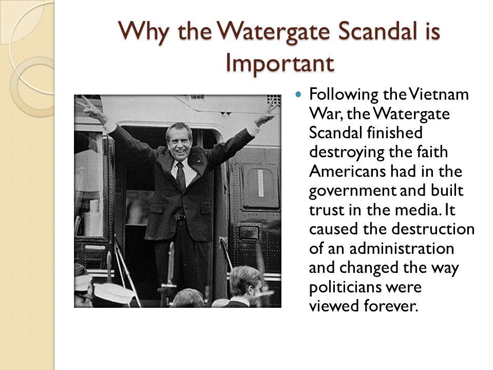 watergate scandel
