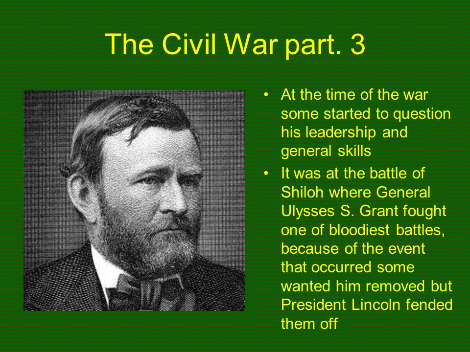 ulysses s grant essay • public papers of the papers of ulysses grant president: date: title: ulysses s grant: march 4, 1869: inaugural address: ulysses s grant: march 5, 1869.