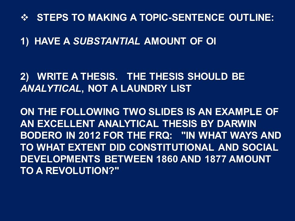 reflective essay thesis example