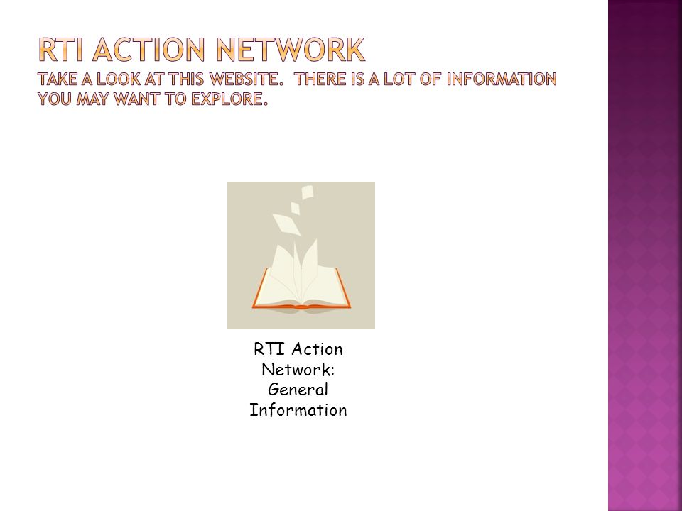 RTI Action Network: General Information
