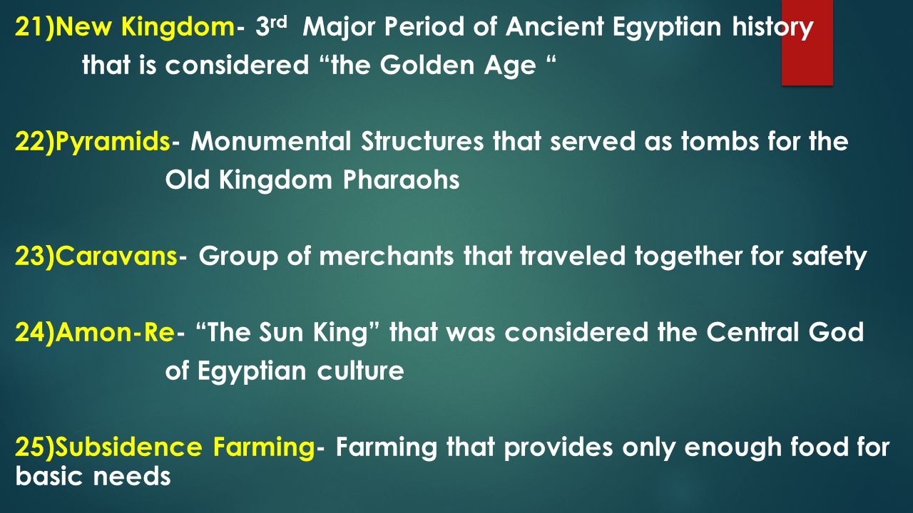 the three major periods of ancient egypt history essay Free essay on ancient egypt its rise and in this period of history the idea of mummification this paper relates three significant works of ancient art.