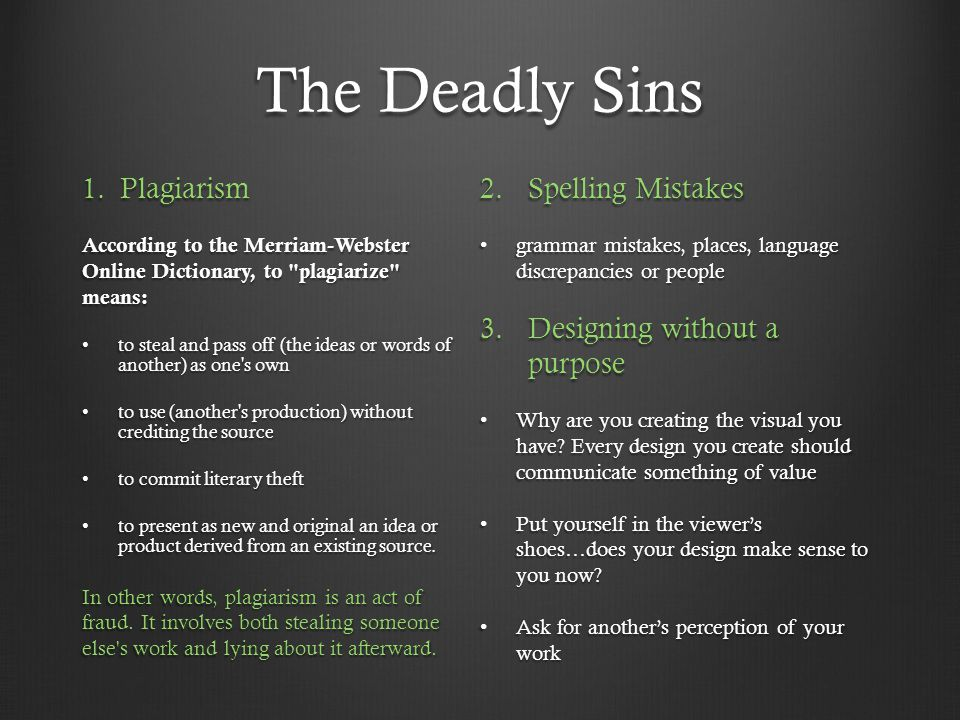 The Deadly Sins 1.