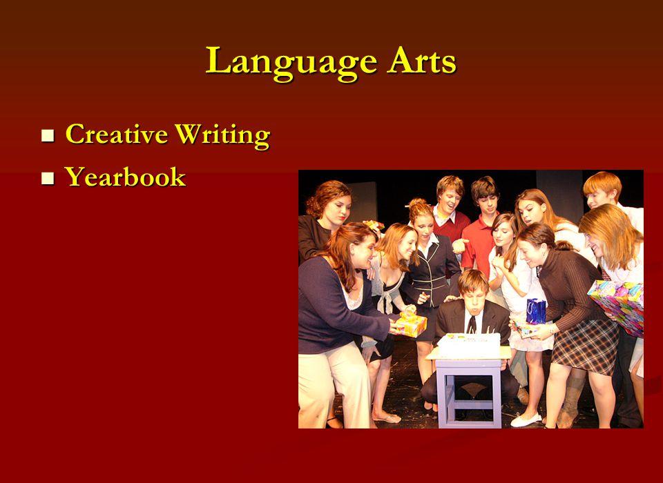 Language Arts Creative Writing Creative Writing Yearbook Yearbook