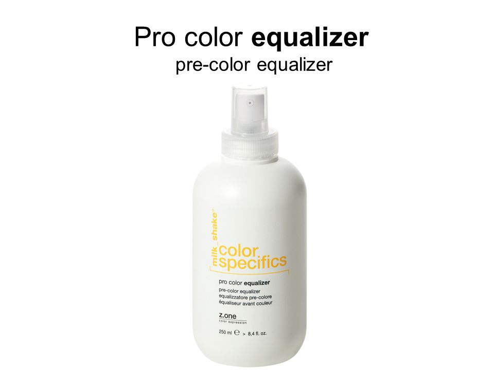 Pro color equalizer pre-color equalizer