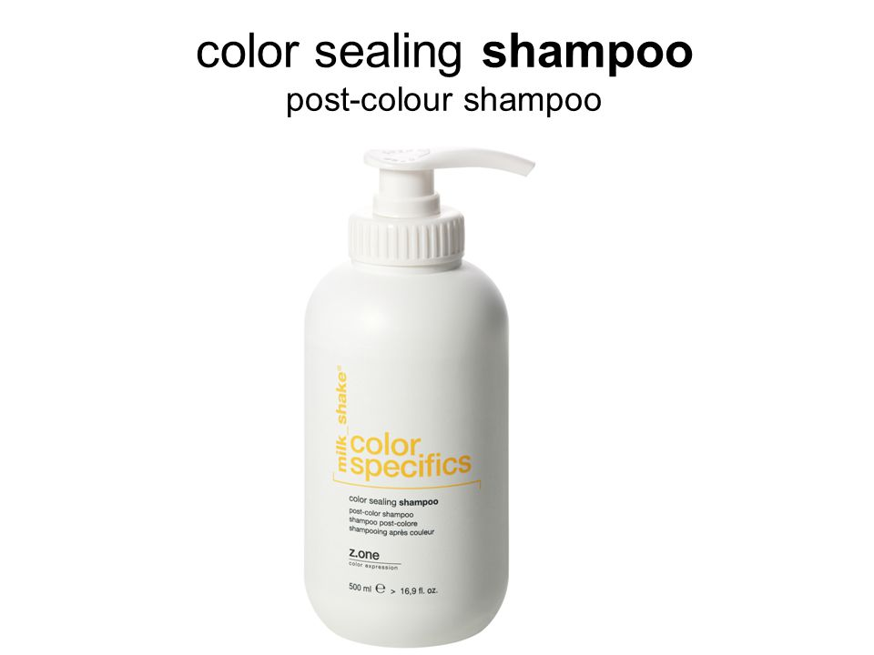 color sealing shampoo post-colour shampoo