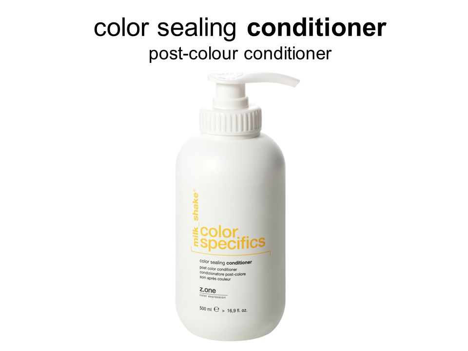color sealing conditioner post-colour conditioner