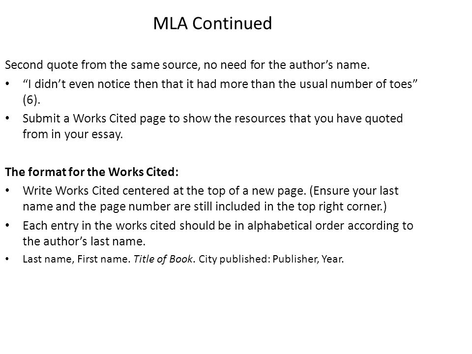 how to quote websites mla essays