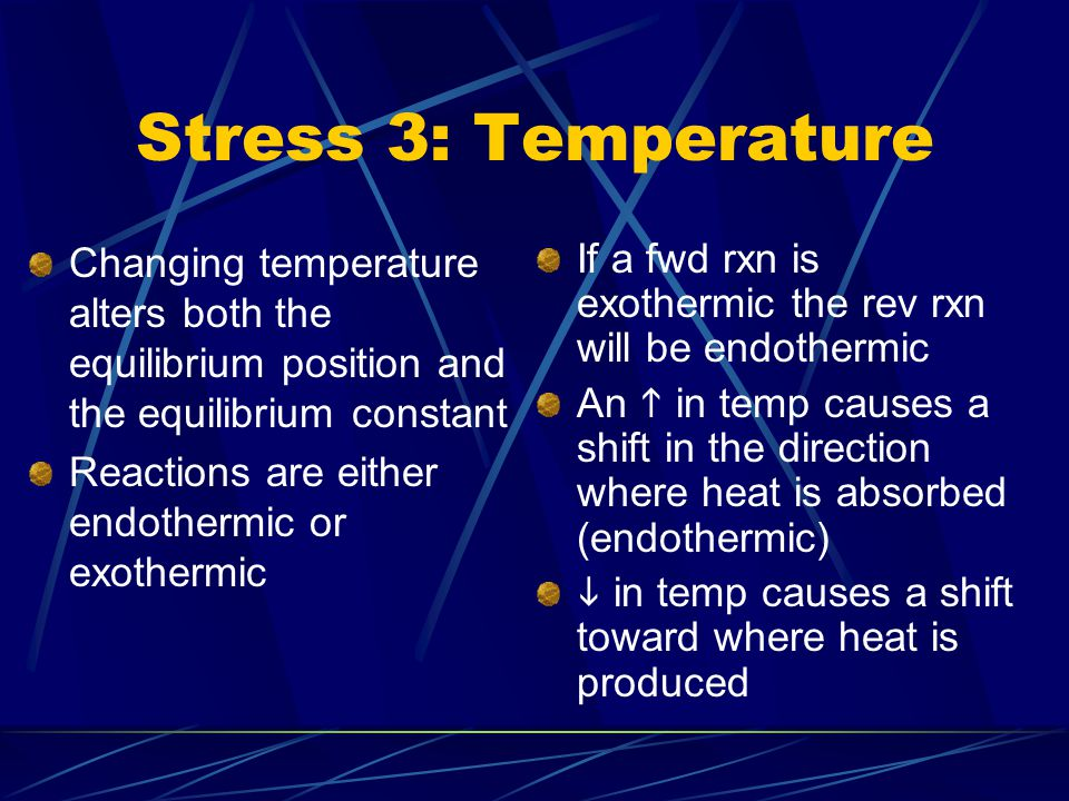 Stress 2: Pressure/Volume Ammonia is produced commercially by the Haber reaction:...