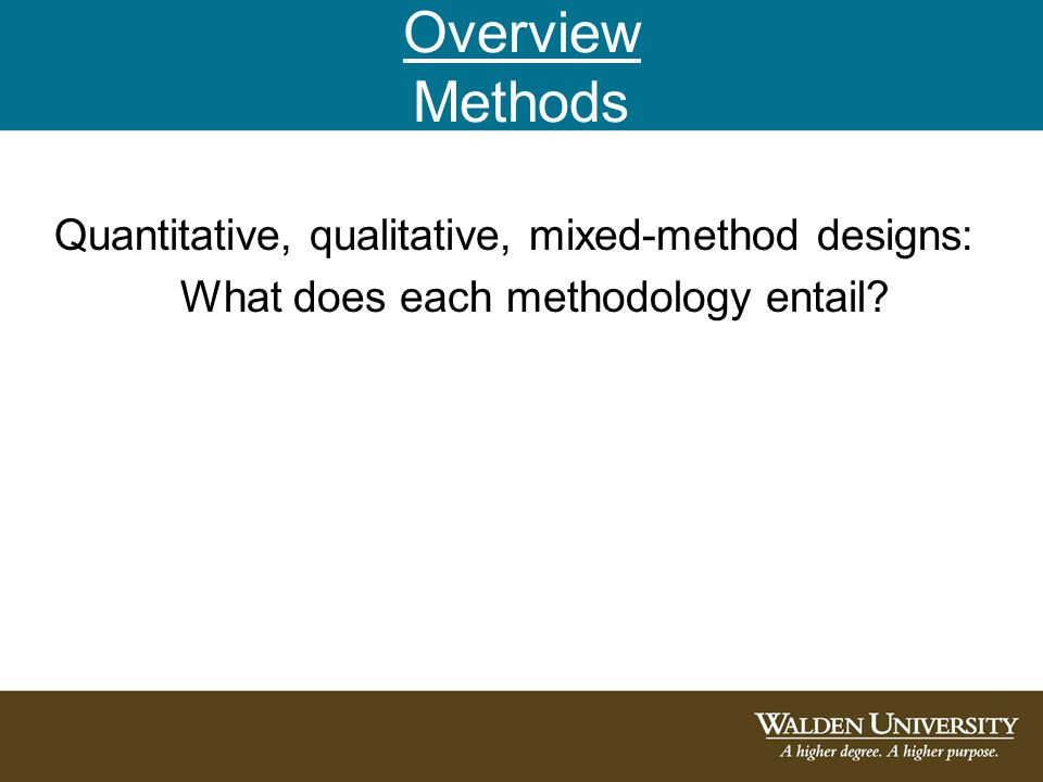 purpose of methodology in dissertation