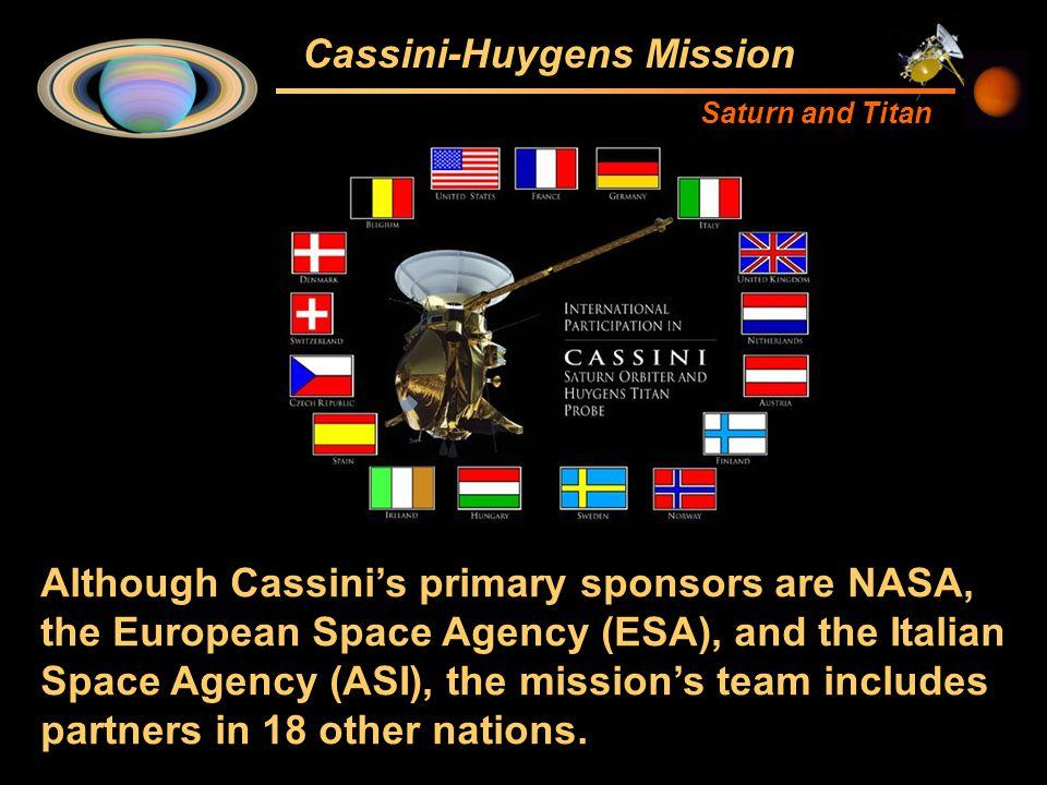 cassini huygens titan and saturn mission