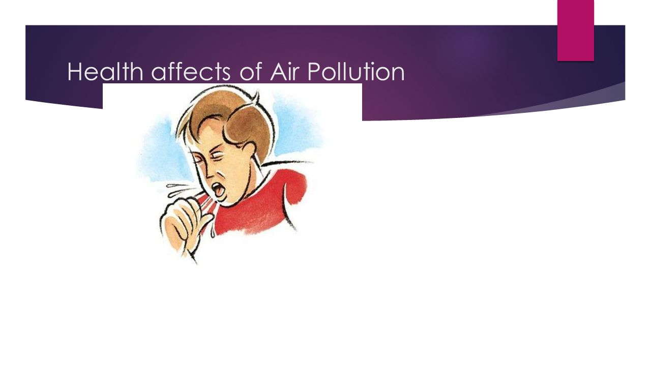 Health affects of Air Pollution