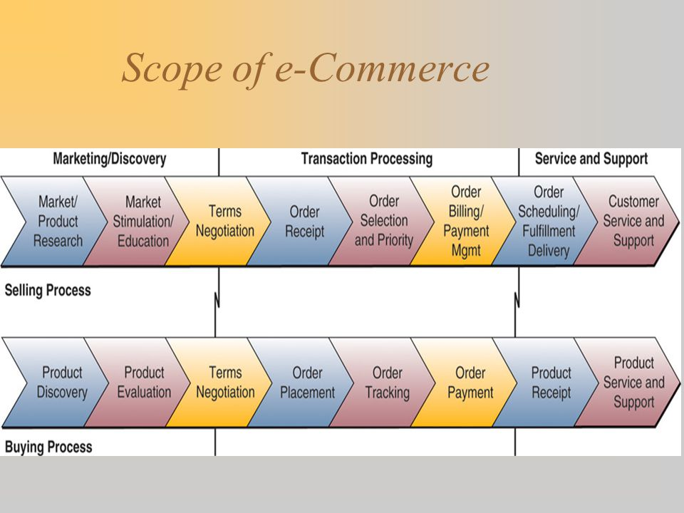 Summary  Many e-business enterprises are moving toward offering full service B2C and B2B e-commerce portals supported by –integrated customer-focused processes and –internetworked supply chains.