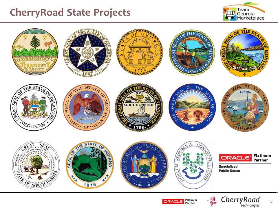 3 CherryRoad State Projects