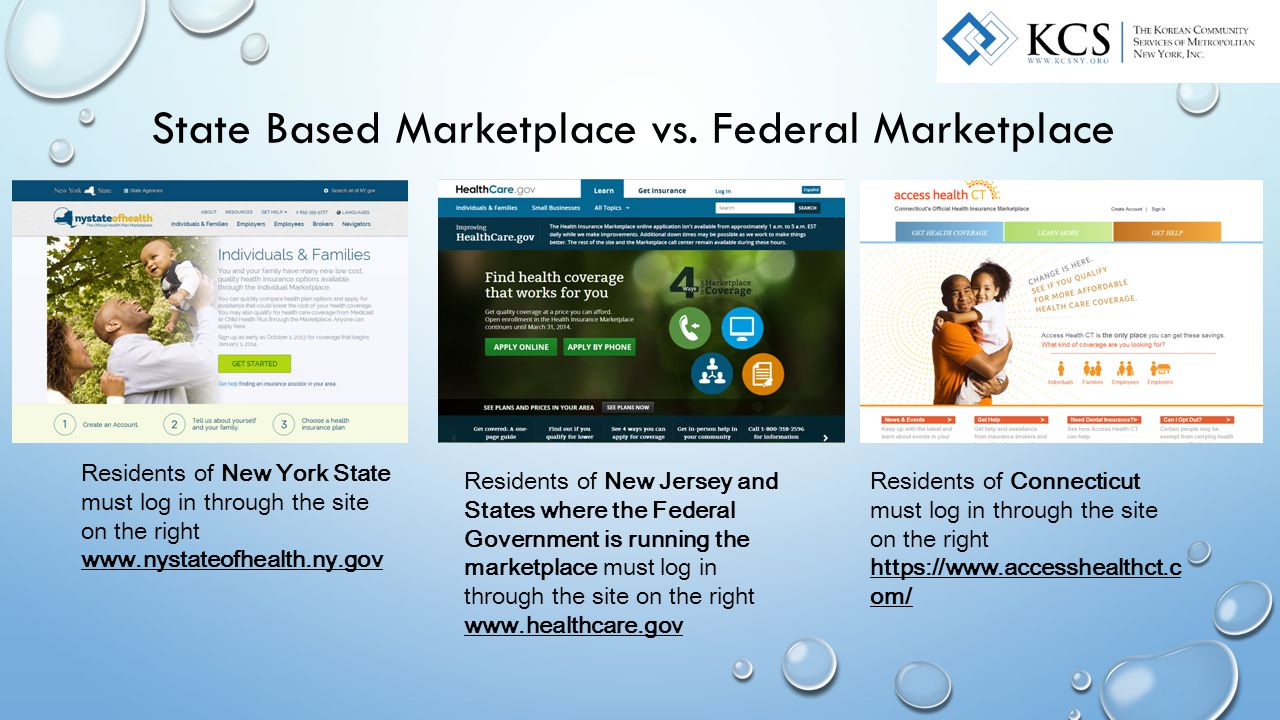 State Based Marketplace vs.