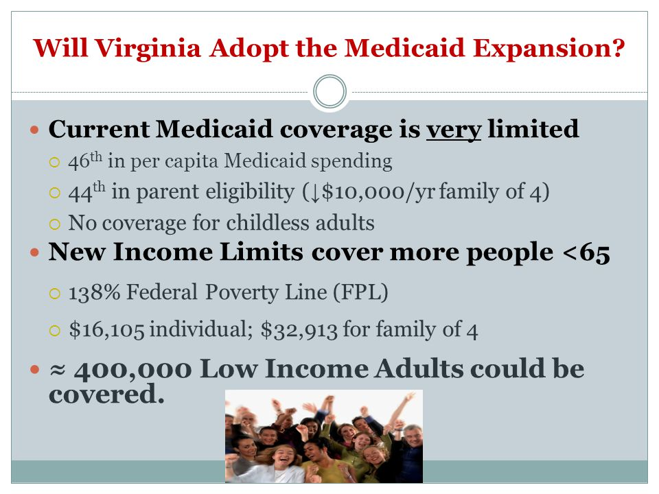 Will Virginia Adopt the Medicaid Expansion.
