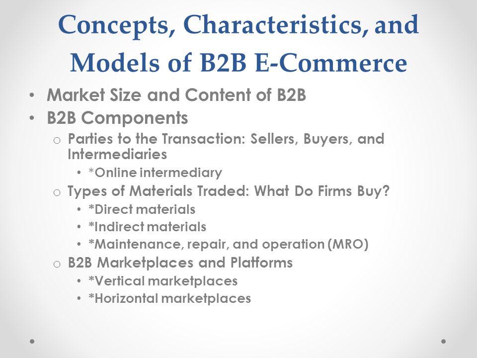 Generations of B2B E-Commerce