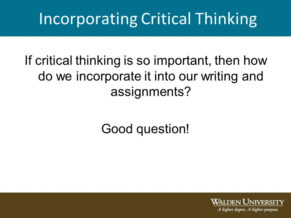 Exercises to Improve Your Critical Thinking