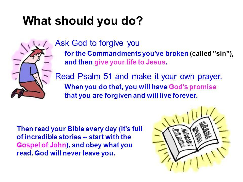 Gospel 13 What should you do.