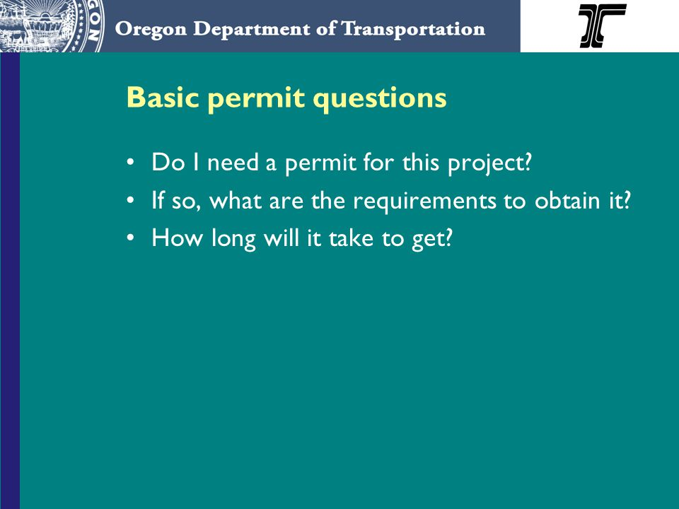 Basic permit questions Do I need a permit for this project.